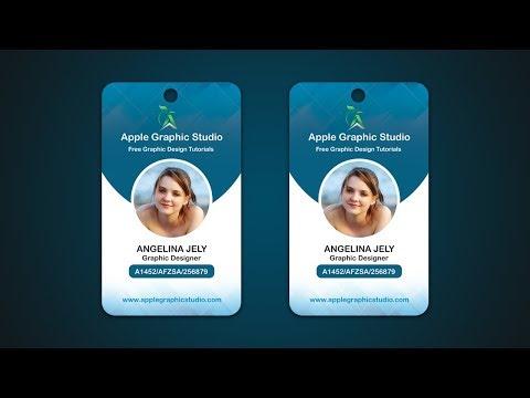 mp4 Design Id Card, download Design Id Card video klip Design Id Card