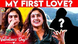 துரத்தி துரத்தி Love பண்ணான் | Vanitha's Cute Love Story | Bigg Boss, Vijay Tv, Cooku with Comali