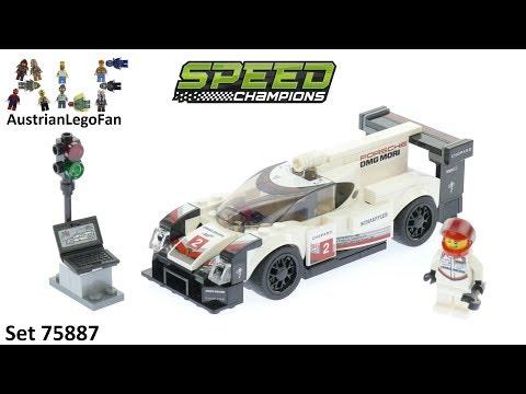 Vidéo LEGO Speed Champions 75887 : Porsche 919 Hybrid