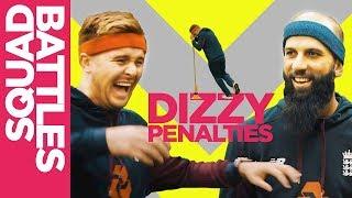 Dizzy Penalties | Moeen Ali Takes HILARIOUS Tumble! | Squad Battles - Challenge 2