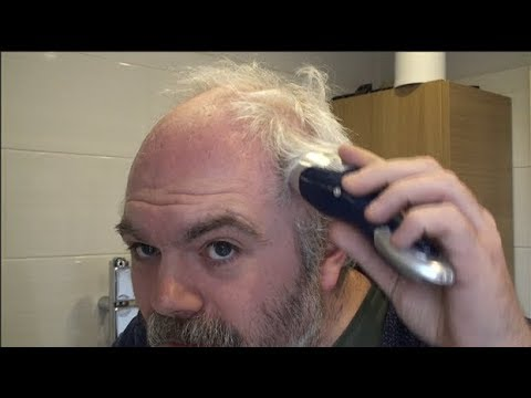Panasonic ER-GB40 head shave test and review