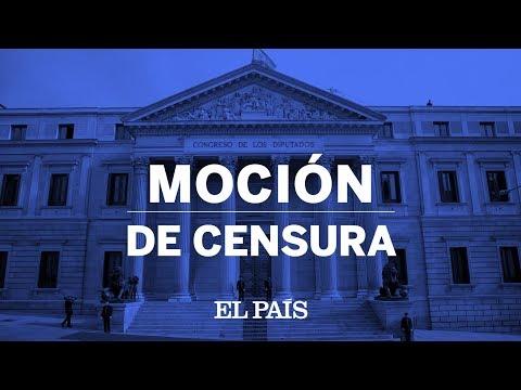 Programa especial en DIRECTO | MOCIÓN DE CENSURA del PSOE a Rajoy