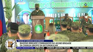 CHANGE OF COMMAND 402ND BRIGADE