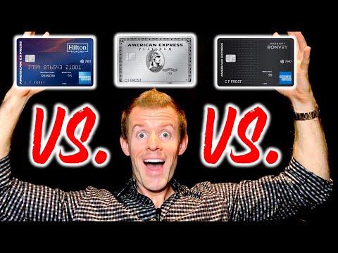 AMEX PLATINUM vs. HILTON ASPIRE vs. MARRIOTT BONVOY BRILLIANT