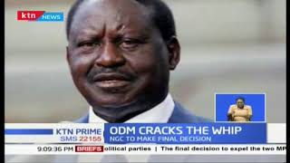 Two ODM leaders  Aisha  and Dori accused of working with DP Ruto to be  expelled from the party
