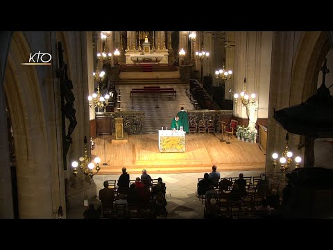 Messe du 25 octobre 2019
