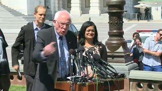 Sanders unveils huge US student debt cancellation bill | AFP