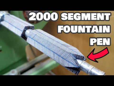 Making an Awesome Layered Fountain Pen