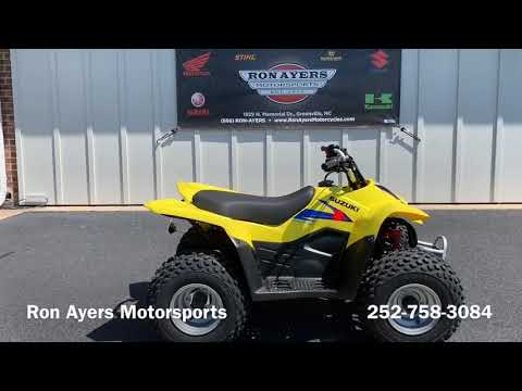 2019 Suzuki QuadSport Z50 in Greenville, North Carolina - Video 1