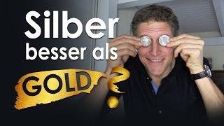 Silber besser als Gold?