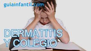 El estrés de la vuelta al colegio y la dermatitis atópica