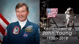 NASA Remembers Moonwalker, Shuttle Commander John Young