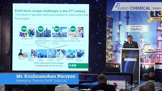Innovations in specialty chemicals a key to future growth: Krishnamohan Narayan, Managing Director, BASF India Ltd