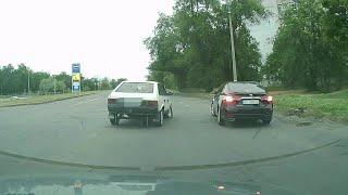 Появилось видео ДТП, в которое попал начальник полиции Николаевской области