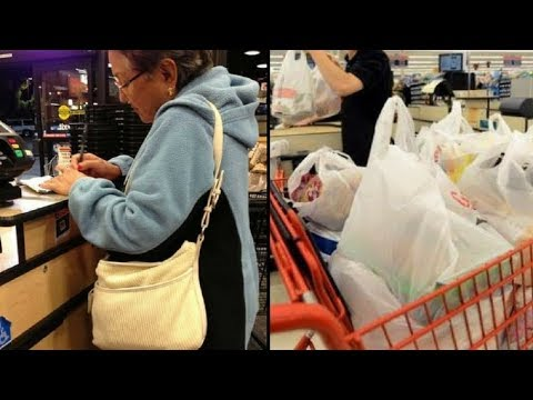 Cashier Shames Elderly Woman At Grocery Store But G'ma's Response Leaves Her Dumbfounded Mp3