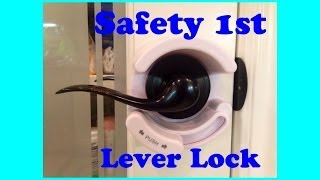 Safety 1st Lever Door Lock Review *valuable tips given!*