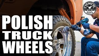 How To Clean And Polish Your Wheels Hassle Free - Chemical Guys Car Care - Video Youtube