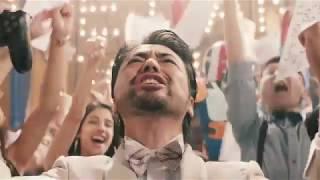 """感動CM山田孝之出演めっちゃかっこいいミュージカル""""PS4""""「できないことが、できるって、最高だ。2017」"""