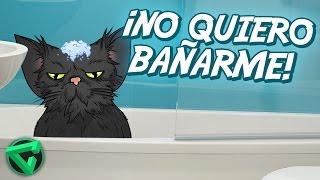 SIMULADOR DE GATO: ¡NO QUIERO BAÑARME! | iTownGamePlay