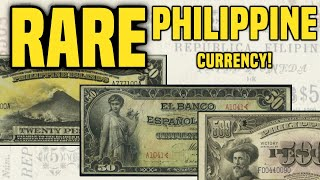SUPER VALUABLE PHILIPPINE Paper Currency Worth BIG MONEY - World Banknotes YOU CAN FIND
