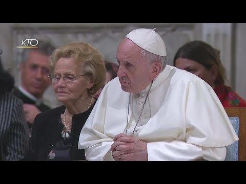Visite du Pape François à la Communauté de Sant'Egidio à l'occasion du 50ème anniversaire de la fond