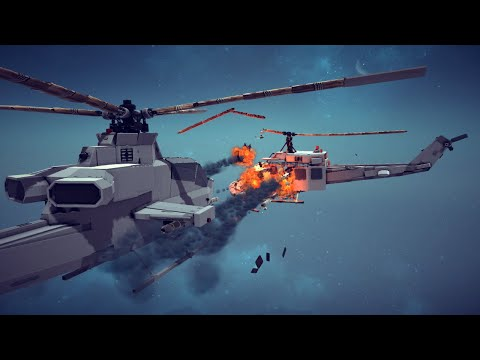 Helicopter Crashes, Shoot Downs, Midair Collisions and More #5   Besiege