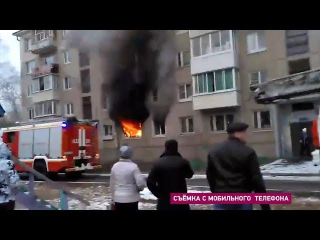 Огнеборцы эвакуировали из пожара 7 человек