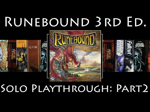 Runebound 3rd Edition: Rules Overview & Solo Playthrough | The Ascendance of Margath | Part 2