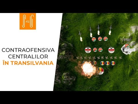 Contraofensiva centralilor in Transilvania