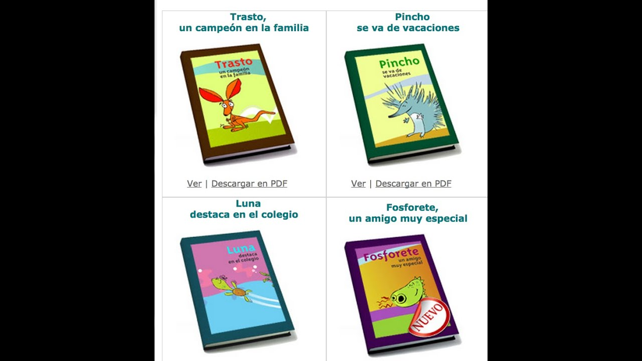 Recopilatorio de video cuentos para trabajar con niños y niñas con tdah