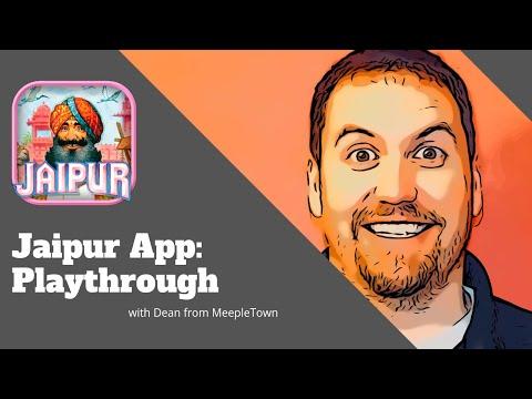 Jaipur App Playthrough - MeepleTown