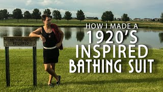My1928 - I Followed A 1920s Mens Bathing Suit Tutorial With No Sewing Required