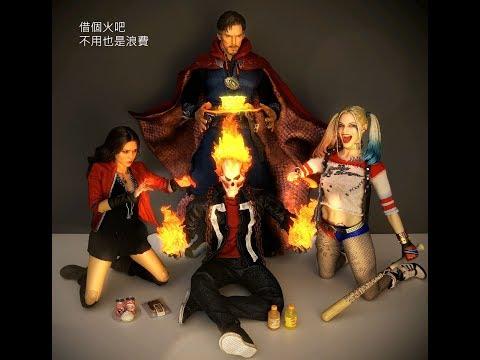 動漫節限定版!Hot Toys - TMS005 - 《神盾局特工》1/6 比例 惡靈戰警 Agents of S.H.I.E.L.D. Ghost Rider 開箱