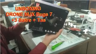 Unboxing Drone MJX Bugs 7