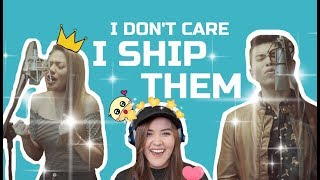 [REACT] - I DON'T CARE, I SHIP THEM - You Are The Reason | Daryl Ong Ft. Morissette Amon