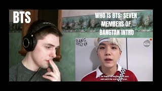 Who is BTS?: The Seven Members of Bangtan Reaction (Immediately Army)