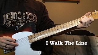 I Walk the Line by Johnny Cash - Luther Perkins Instrumental