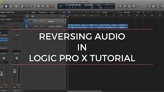 Reversing Audio in Logic Pro X Tutorial