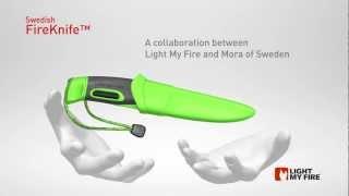 Vidéo présentation FireKnife - Couteau & Pierre à feu