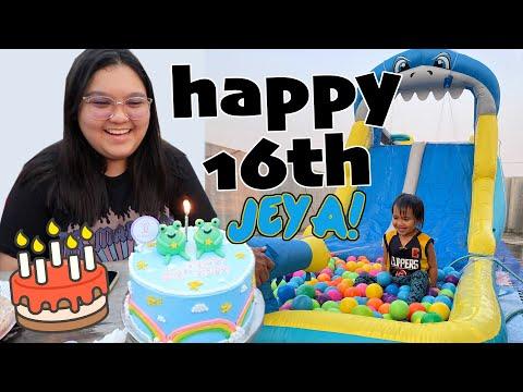 JEYA'S 16TH BIRTHDAY CELEBRATION!!! – anneclutzVLOGS