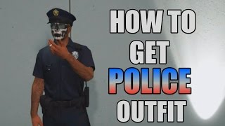 GTA 5 Online How To Get COP Outfit PS3/XBOX