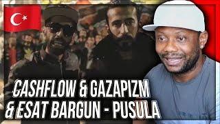 Sıfır Bir Soundtrack: Cashflow & Gazapizm & Esat Bargun - Pusula TURKISH RAP REACTION!!!