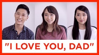 """ABCs Say """"I Love You"""" to Their Dads for the First Time 