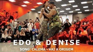 Edo & Denise Kizomba Fusion Dance @ KIZMI 2016   Calema - Vai  A Origem