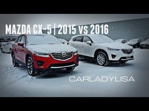 MAZDA CX-5   GT 2015 vs 2016 Model Changes