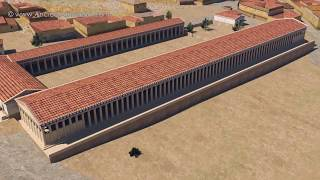 The Middle Stoa in the Agora of Athens - 3D reconstruction