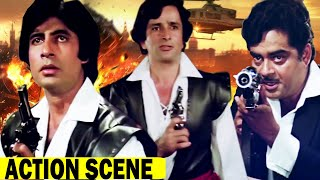 Shaan Hindi Action Last Scene |  Amitabh Bachchan | Shatrughan Sinha | Best Bollywood Action Scene