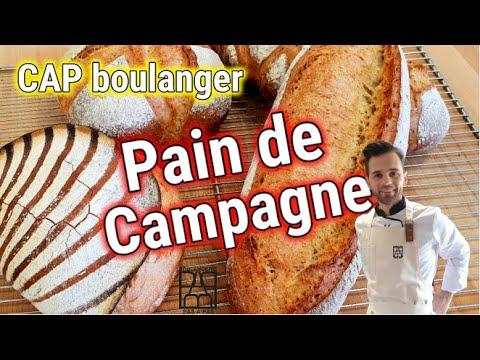 Boulangerie Pas à Pas N°16: Le Pain de campagne. CAP boulanger