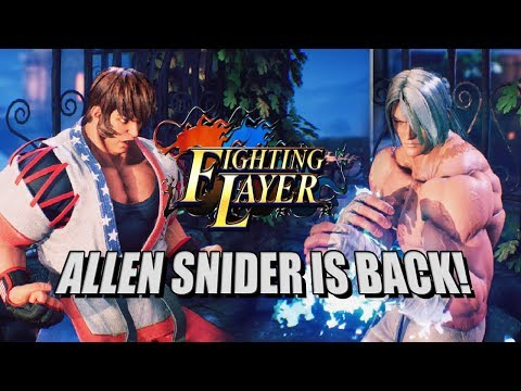 ALLEN IS BACK! Fighting Layer EX: Online Beta Matches