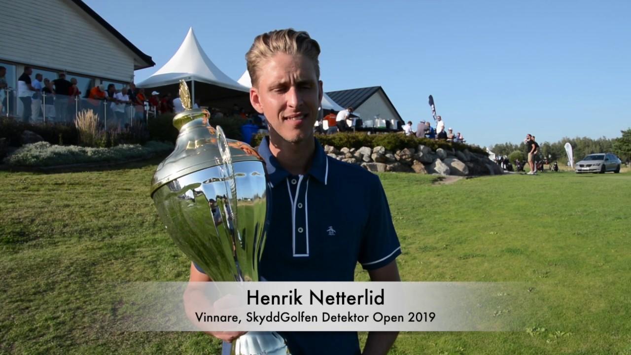 Webb-TV: Det bästa från SkyddGolfen Detektor Open 2019